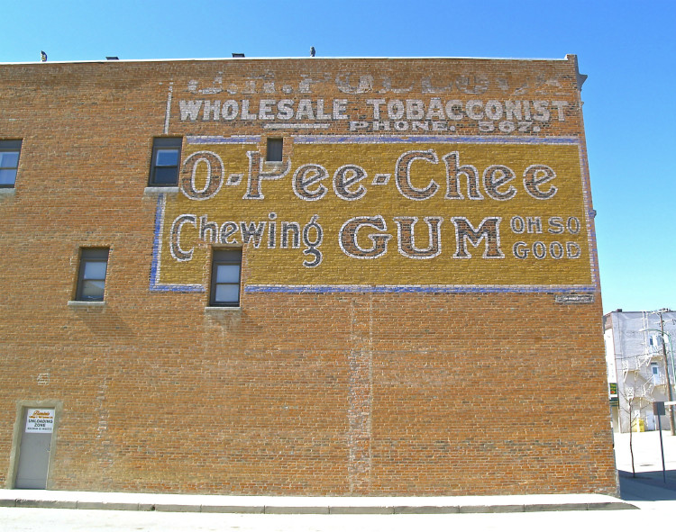 prince albert ghost sign 1