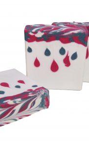 Candy Cane Bar Soap 1