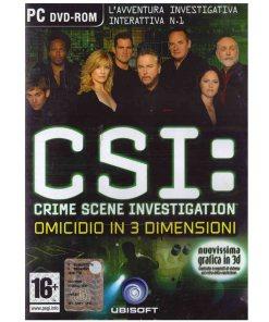 Gioco PC CSI crime scene investigation omicidio