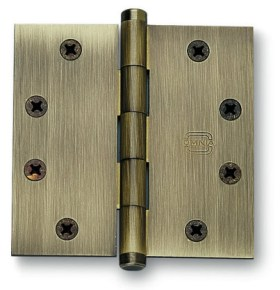 Item No.985/45 (Plain Bearing, Full Mortise Hinge - Solid Extruded Brass)