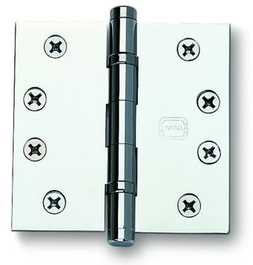 Item No.985BB/4 (Ball Bearing, Full Mortise Hinge - Solid Extruded Brass)