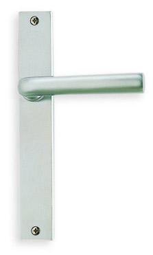 Item No.17368 (Modern Narrow Plate Lever Latchset - Solid Brass)