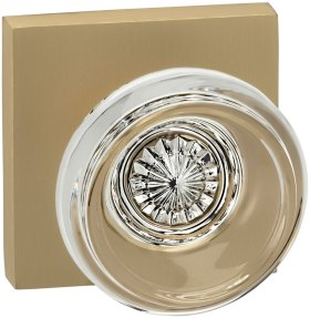 Item No.566SQ (US4 Satin Brass, Lacquered)