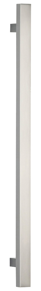Item No.9010/254 (Modern Cabinet Pull - Solid Brass) in finish US15 (Satin Nickel Plated, Lacquered)