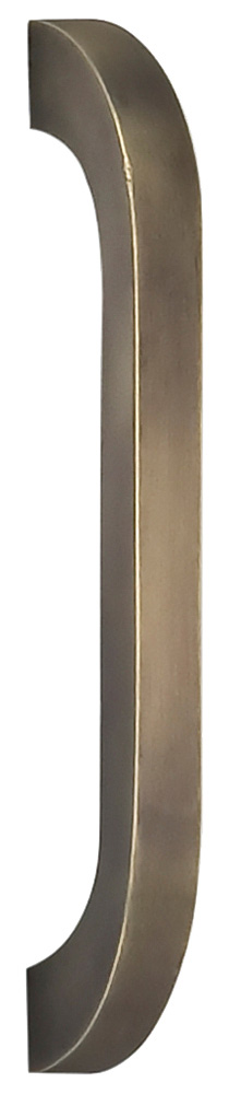 Item No.9023/102 (Modern Cabinet Pull - Solid Brass) in finish US5 (Antique Brass, Lacquered)