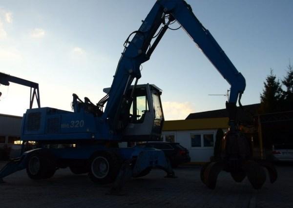 Terex Fuchs MHL 320 | Omnia Machinery