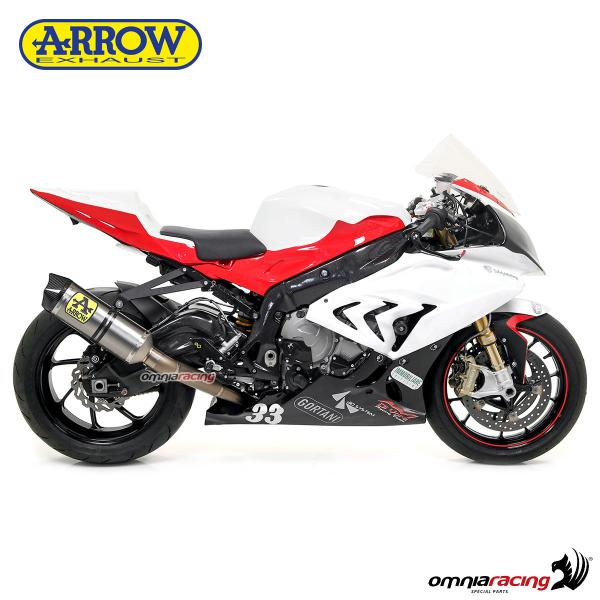 arrow full exhaust system competition evo titanium for bmw s1000rr 2017 2018