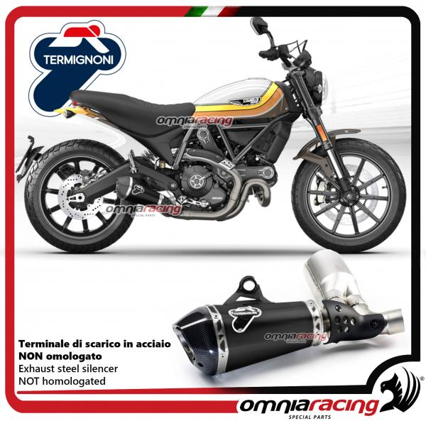 termignoni exhaust black racing