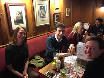 Polyglots polyglotting at the Polyglot Pub