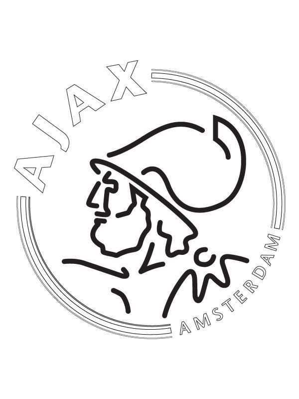 kleurplaat ajax kampioen