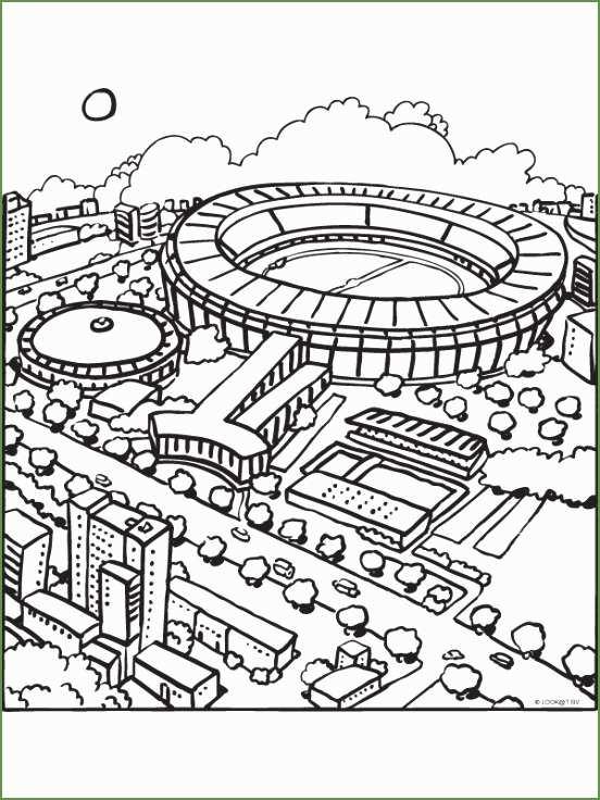 kleurplaat ajax stadion