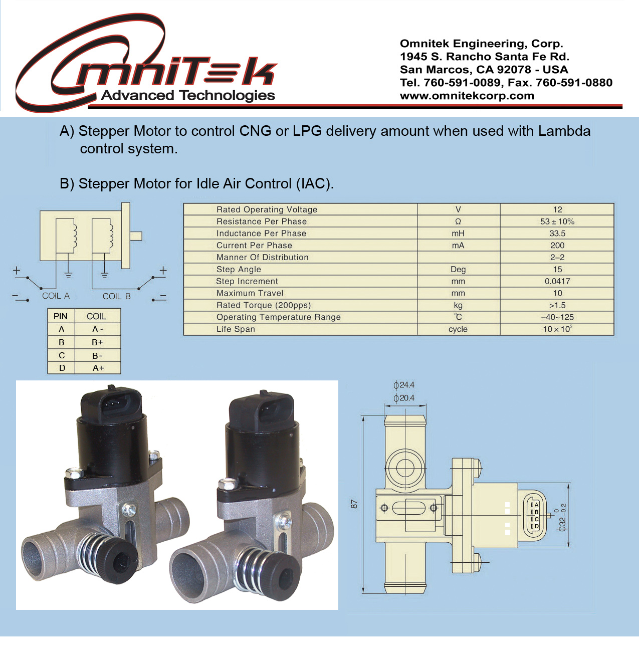 Omniteksel To Natural Gas Engine Conversion New