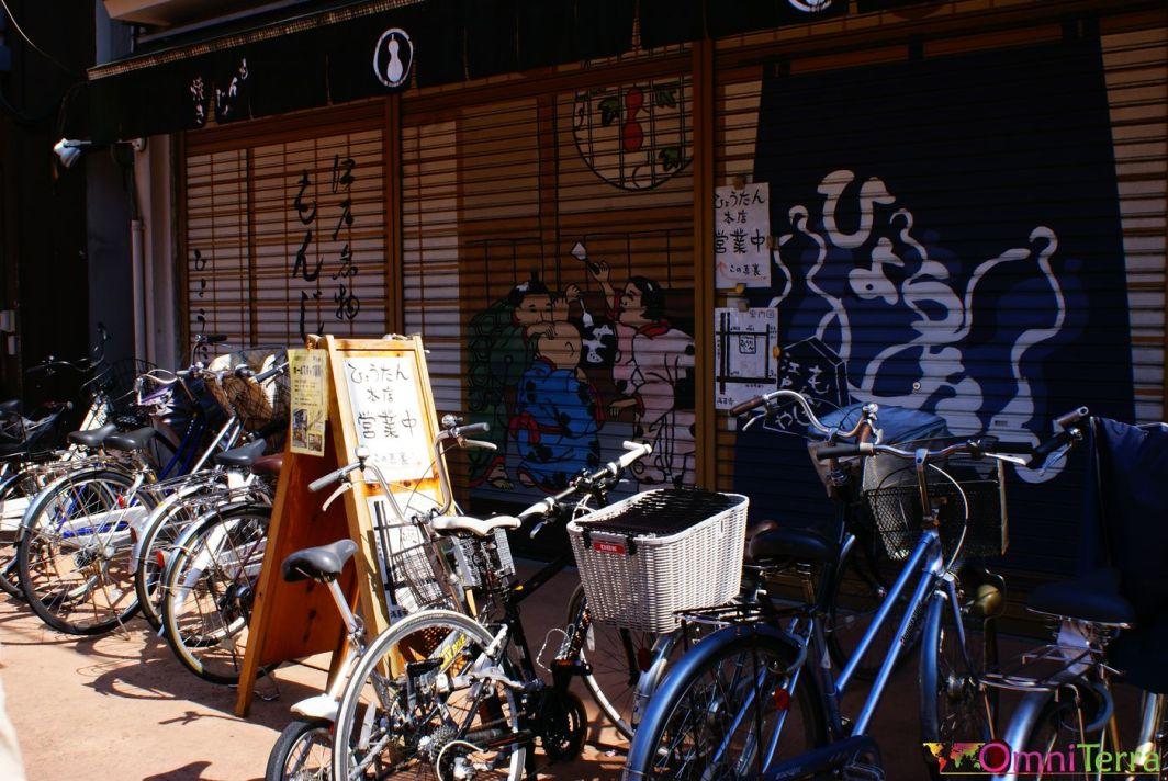 Japon - Asakusa - Vélos