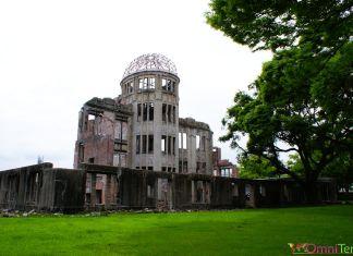 Japon - Hiroshima - Parc du Mémorial de la Paix - Dôme