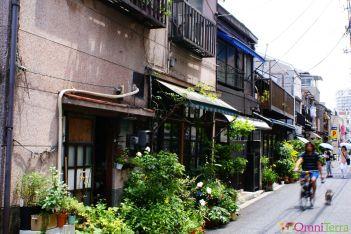 Japon - Tokyo - Quartier Yanaka - Rue