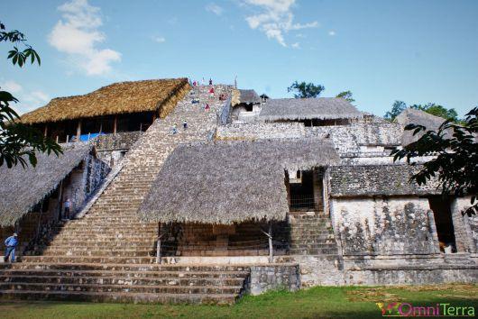 Mexique - Ek Balam - Pyramide La Torre