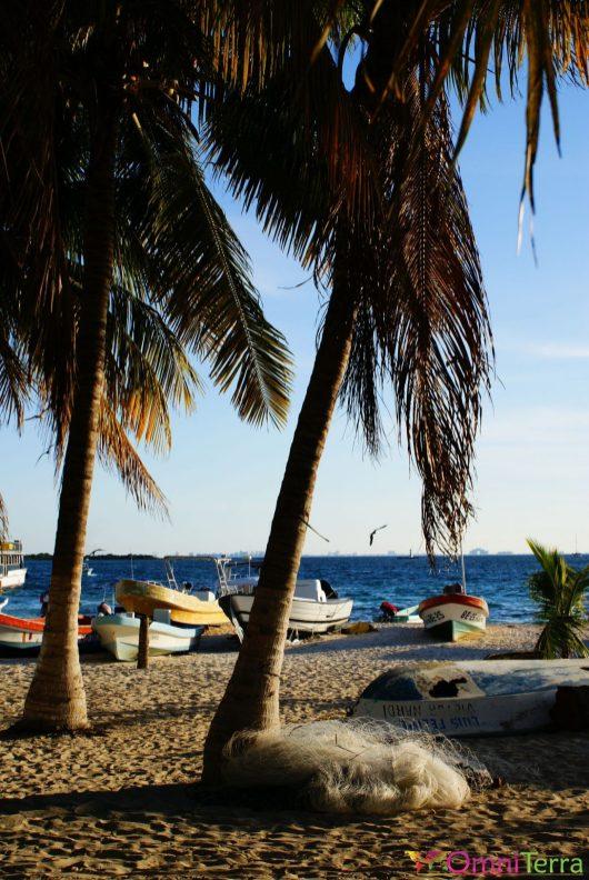 Mexique - Isla Mujeres - Bateaux