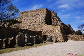 Mexique - Monte Alban - Pyramide