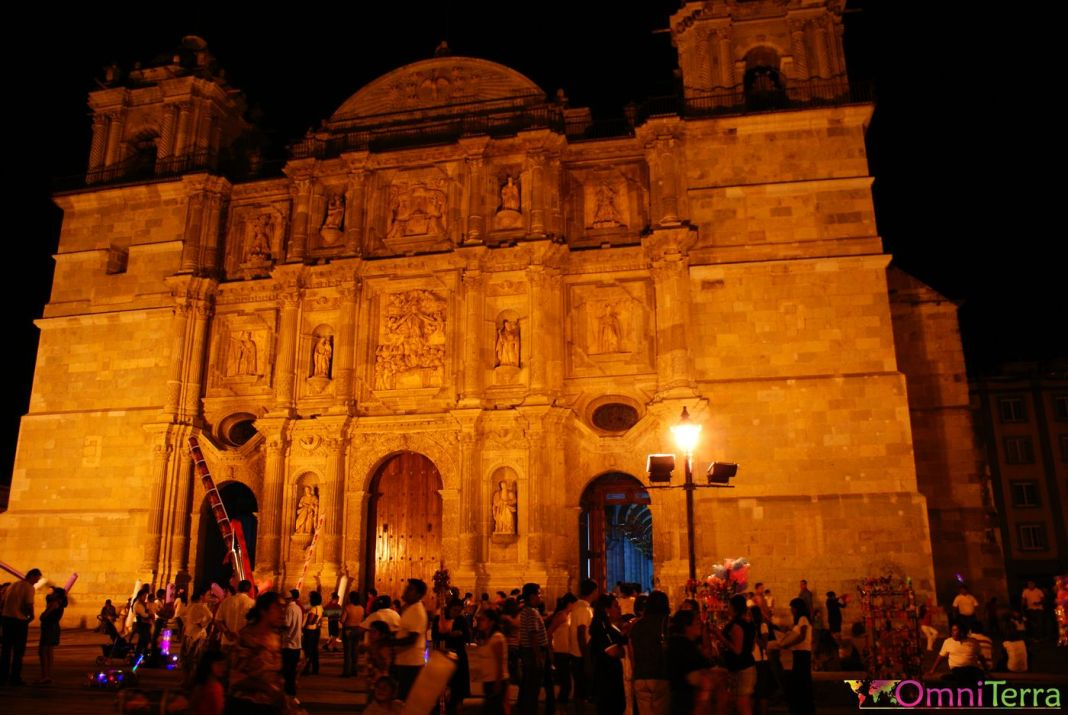 Zocalo de nuit Oaxaca
