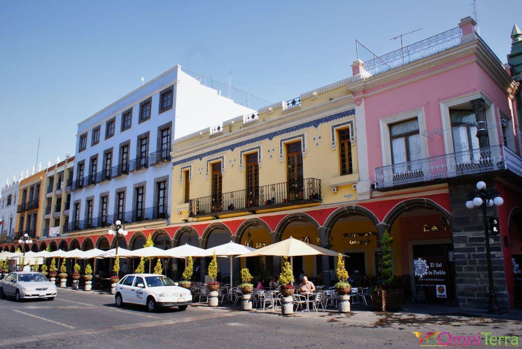 Mexique - Puebla - Bâtiments