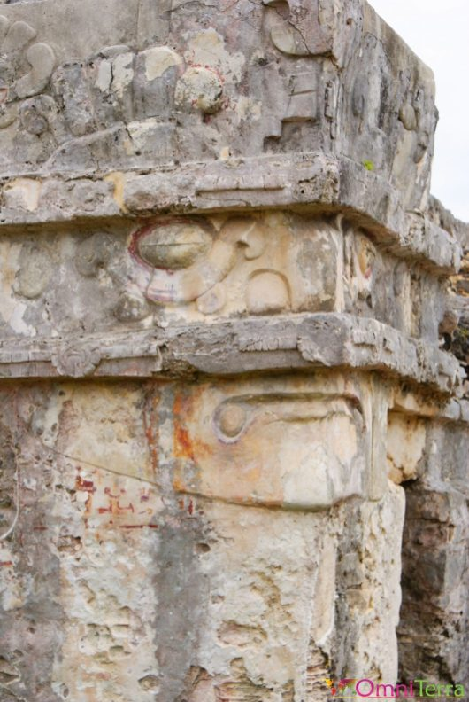 Mexique - Tulum - Pyramide