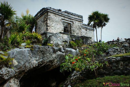 Mexique - Tulum - Ruines et végétation