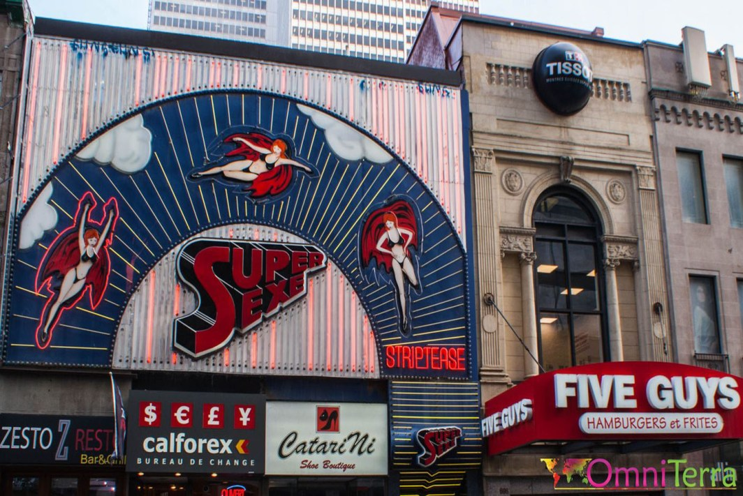 Montréal - Sainte Catherine - Super Sexe