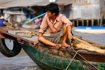 Vietnam - Cantho - Vendeur