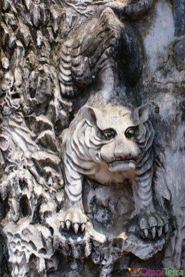 Vietnam - Hanoi - Temple de la littérature - Tigre