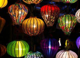 Vietnam - Hoi An - Lanternes la nuit