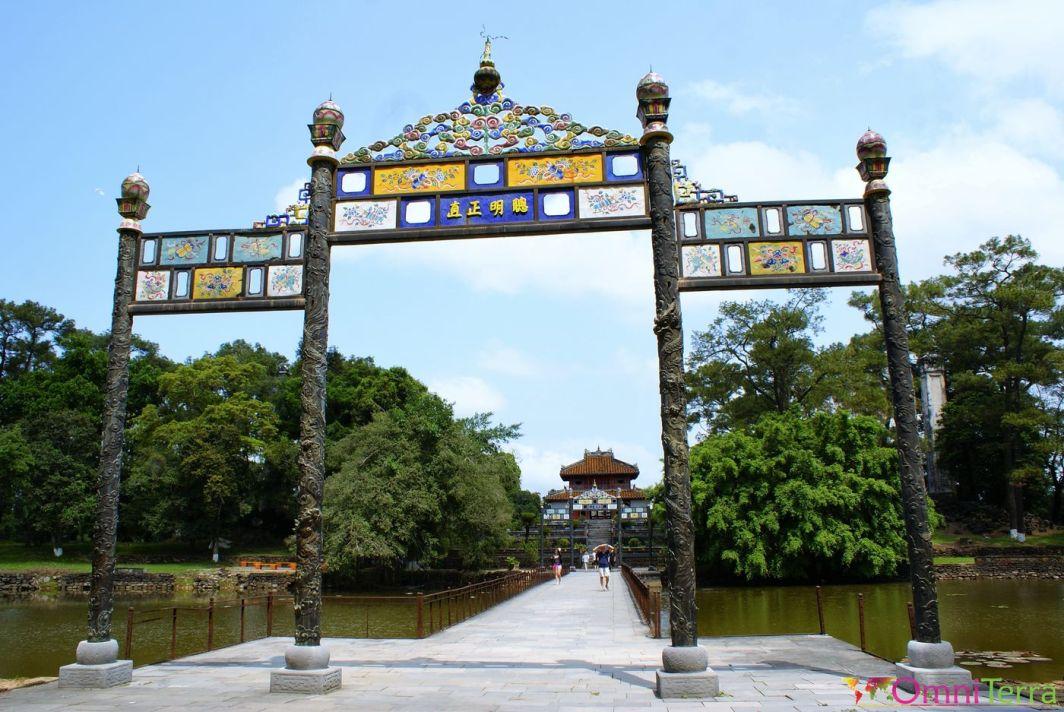 Vietnam - Hué - Tombeau de Minh Mang