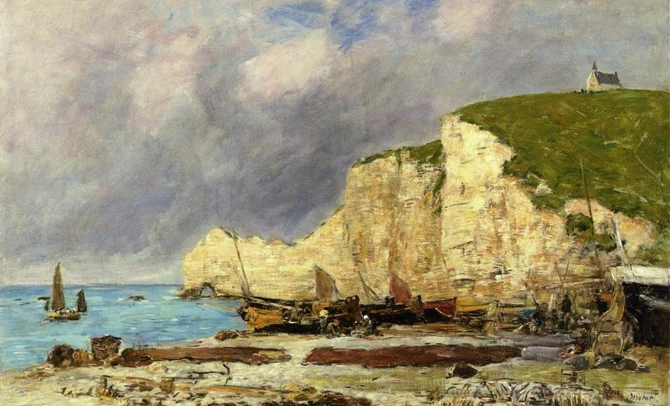 Étretat - Eugène Boudin