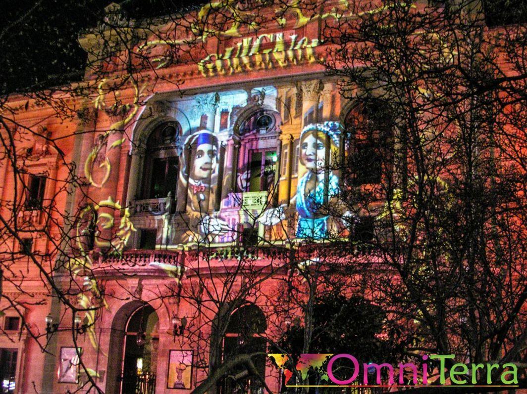Lyon - Fête des Lumières - Théâtre des Célestins