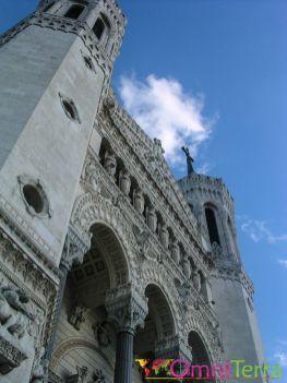 Lyon - Notre Dame de Fourvière - Facade