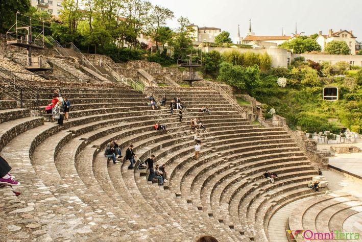 Lyon - Théâtre gallo-romain de Minimes