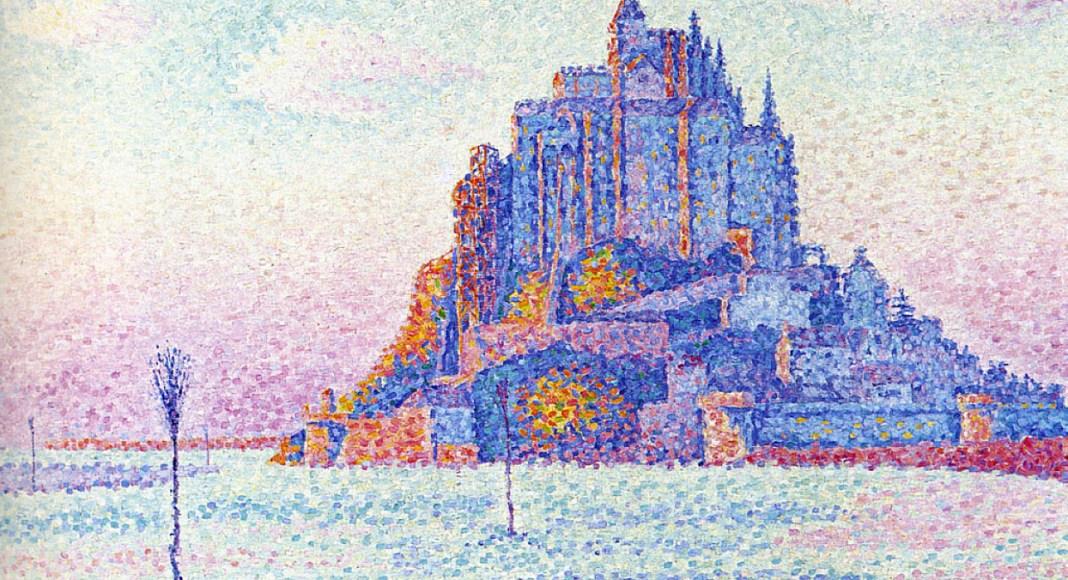 Mont Saint-Michel - Paul Signac