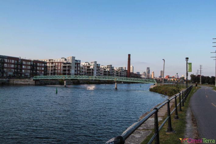 Montréal - Piste Cyclable - Canal Lachine
