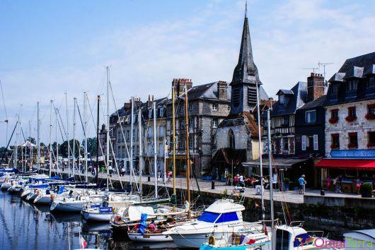 Normandie - Honfleur - Le port