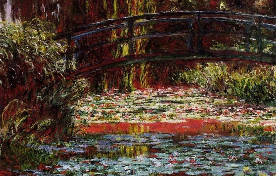 Pont japonais Giverny - Claude Monet