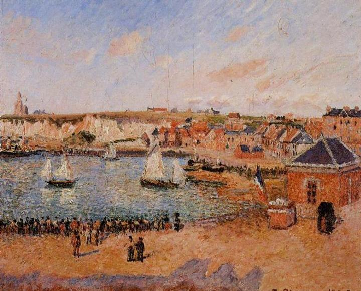 Port de Dieppe - Camille Pissarro