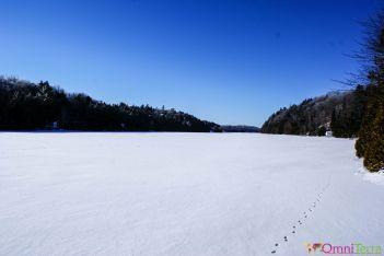 Québec - Lac gelé