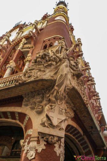 Barcelone-Palau-de-la-Música-Détails