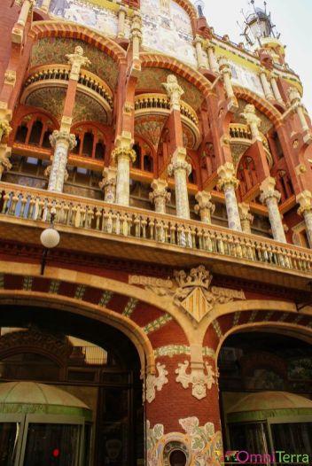 Barcelone-Palau-de-la-Música-Facade