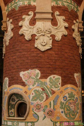 Barcelone-Palau-de-la-Música-Pilier