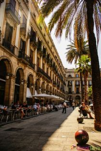 Barcelone-Plaza-Reial