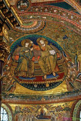 Rome - Basilique Sainte Marie Majeure - Mosaique