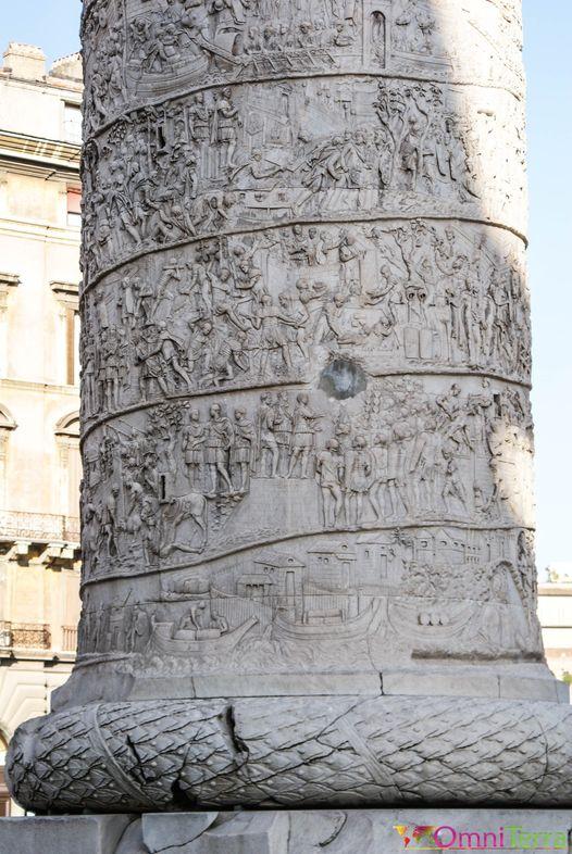 Rome - Colonne Trajan - Détails