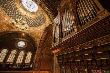 Prague - Josefov - Synagogue espagnole - Orgue