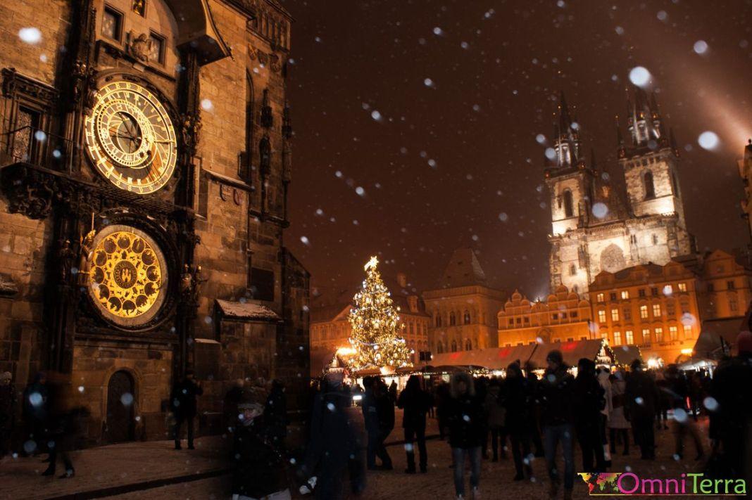 Prague - Place de le Vieille ville et Horloge