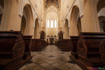 Sedlec - cathédrale de l'assomption - Nef
